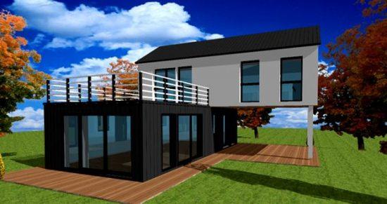 Architecte Constructeur Maison Design Contemporaine Sur Mesure