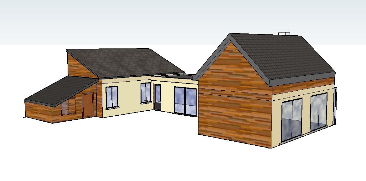 Pin extention maison bois agrandissement en bois11jpg on for Agrandissement maison yvelines