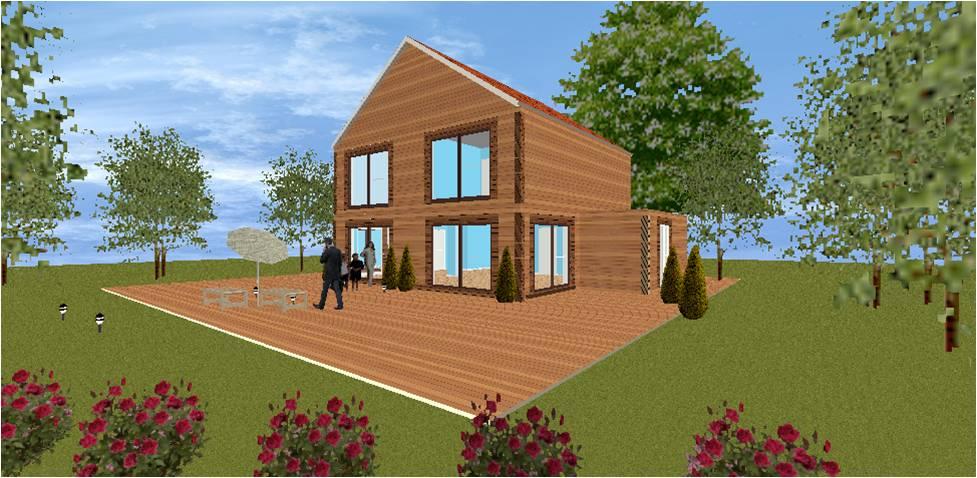 Maison bois france foret architecte bois constructeur bois for Constructeur maison 78