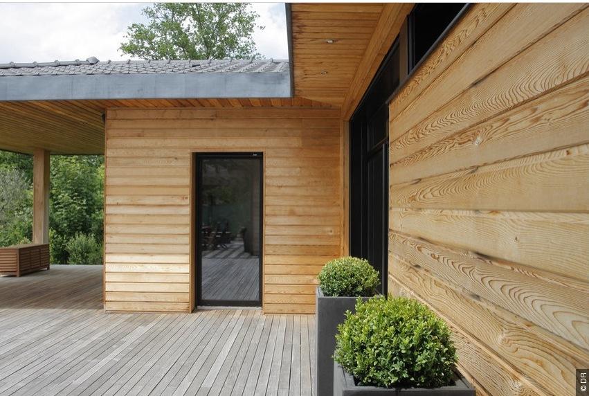 Extension et agrandissement de maison en ossature bois plans et construction maisons bois Agrandissement maison bois