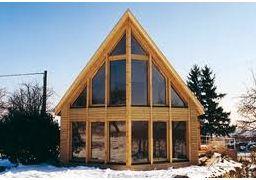 Ossature bois madrier bois poteau poutre que choisir for Constructeur de maison en bois poteau poutre