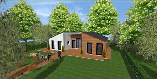 Maison en bois d 39 architecte sur mesure et haut de gamme - Maison d architecte en bois ...