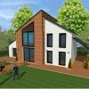 maison bois ecologique passive bbc a montfort l amaury 78 yvelines