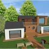 maison architecte ossature bois 94
