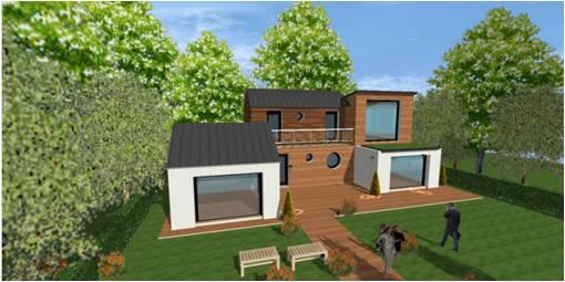 construction maison bois 94 val de marne saint maur des fosses idf maisons bois france foret. Black Bedroom Furniture Sets. Home Design Ideas