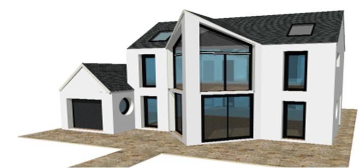 P 20 nouveaux modeles concept et toit terrasse maisons for Maison moderne 1 etage