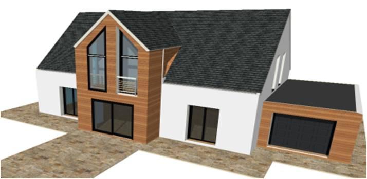 P 20 / Nouveaux Modeles Concept et Toit Terrasse | Maisons Bois ...