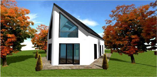Constructeur de Maison Bois Concept n°1 White