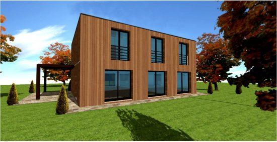 Cube Plan Maison Cube n°3