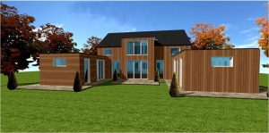 Des maisons ossature bois pas chere et economique en kit for Acheter maison france pas chere