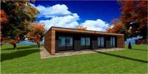 maison en kit ossature bois constructeur construction. Black Bedroom Furniture Sets. Home Design Ideas