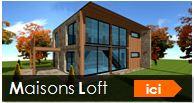 maison loft construction ossature bois