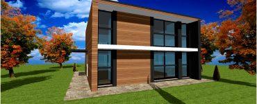 Maison Bois Toit Terrasse Architecte #6
