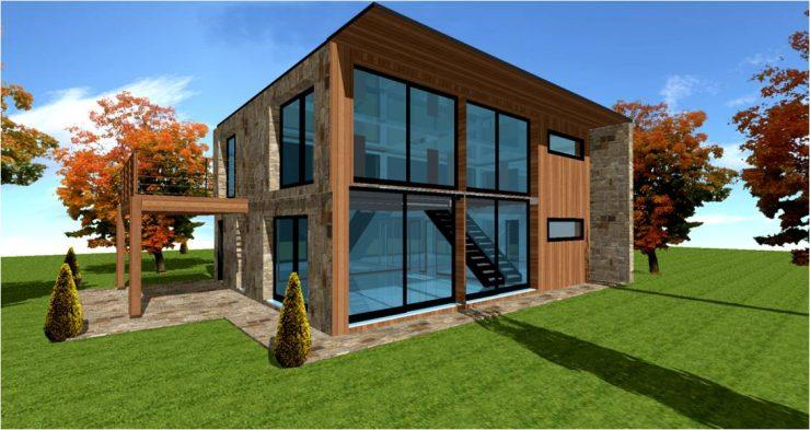 Constructeur de maisons bois sur mesure d'architecte