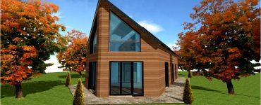 Maison bois clef en main ou hors d eau hors d air clos couvert