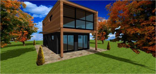 Maison d Architecte Bois #3
