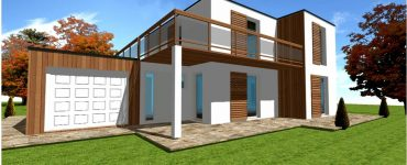 Maison Ossature bois Architecte