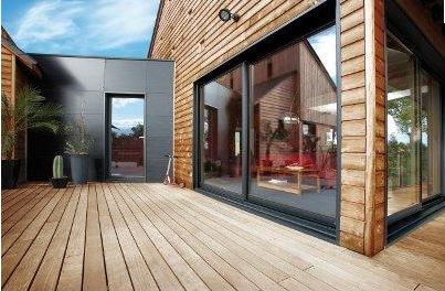 extension maison bois dans le 78