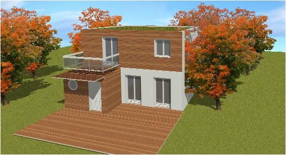 maison ossature bois 77