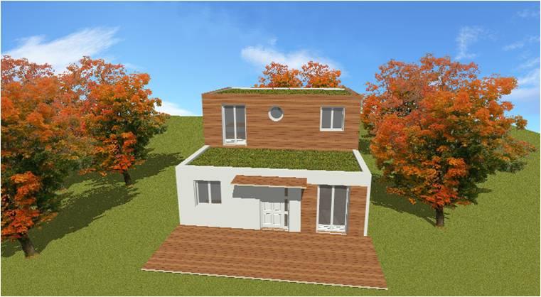 construction maison ossature bois 77