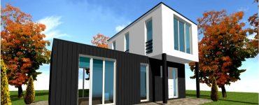 Maison Moderne Contemporaine Plan et Modele Ossature Bois Constructeur