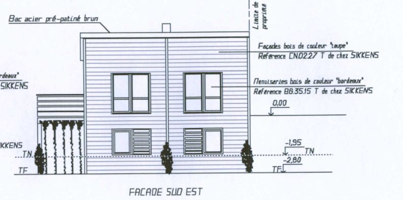 plan maison bois 78