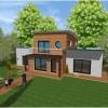 Maison en bois d'architecte sur mesure et haut de gamme Plan et Construction