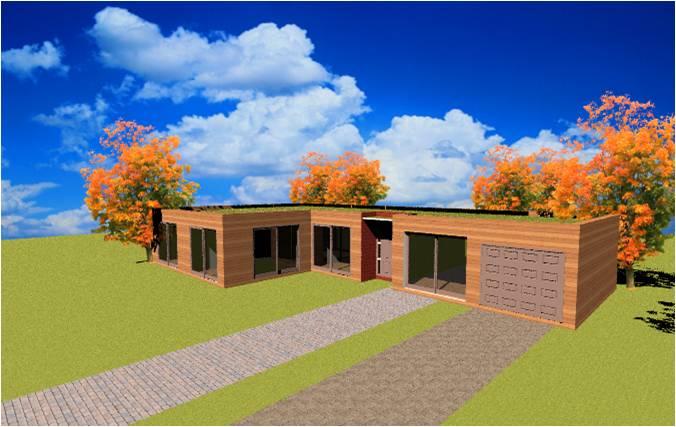 Constructeur de maison a ossature en bois construction plan
