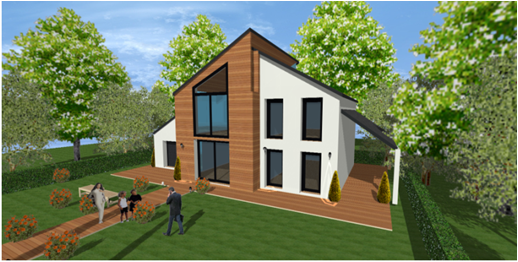 maison bois ecologique passive bbc a montfort l amaury 78 yvelines 2