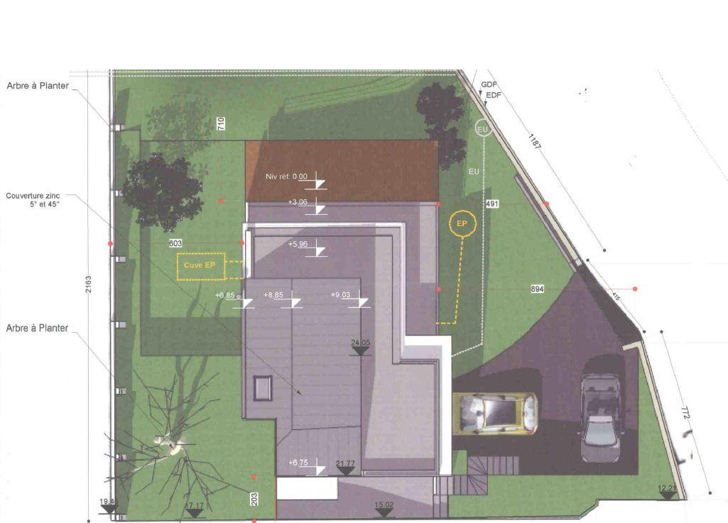 maison architecte ossature bois contemporaine moderne 92 hauts de seine plessis robinson