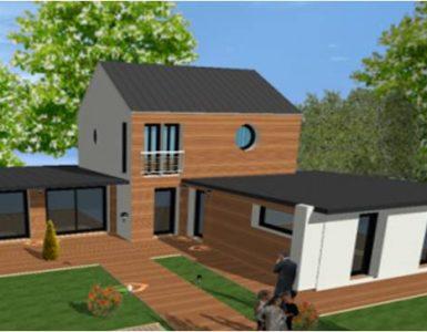 Nouvelles Maisons Bois Modernes Contemporaines Ecologique et Bioclimatique en ile de france et yvelines 78