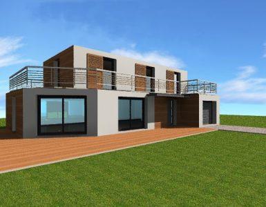 Maison bois ile de france constructeur ossature bois idf