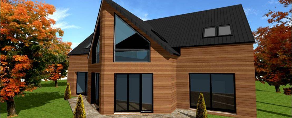 Plan et Modele de Maisons Ossature Bois