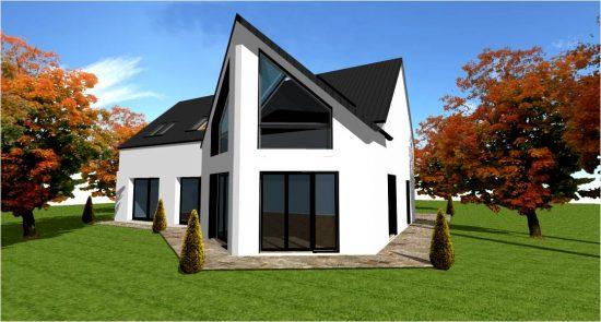 Maison Bois Demi Ronde Concept N°3 White
