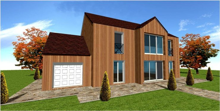 Devis pour construction maison ossature bois rapide et gratuit   Maisons Bois France Foret ...