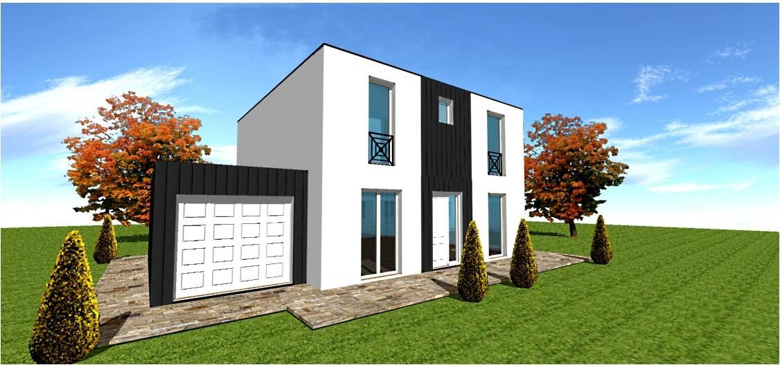 acrotere et accrotere pour toit plat maison bois maisons. Black Bedroom Furniture Sets. Home Design Ideas