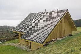 materiaux toit bacacier maison bois