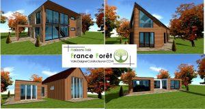 Votre constructeur promoteur et architecte de maison ossature bois sur l'idf